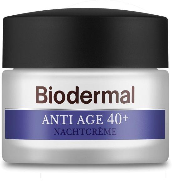 Biodermal Anti Age 40+ - Nachtcrème tegen huidveroudering - 50ml