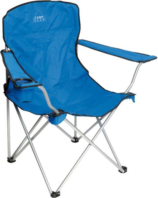 Camp-gear Stoel - Opvouwbaar - Compact - Blauw