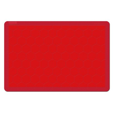 Kaiser bakmat - siliconen - 40 x 30 cm - rood