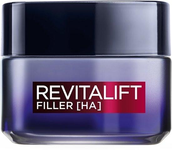 L'Oréal Paris Revitalift Filler Anti Rimpel - 50 ml - Nachtcrème