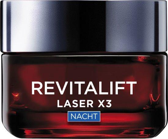 L'Oreal Paris Revitalift Laser X3 anti-rimpel nachtcrème – 50 ml