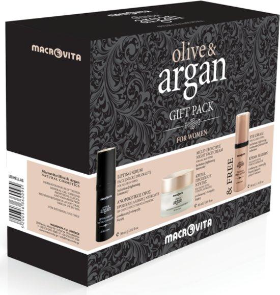Macrovita Olive & Argan Anti-ageing Arganolie Gezichtsverzorging