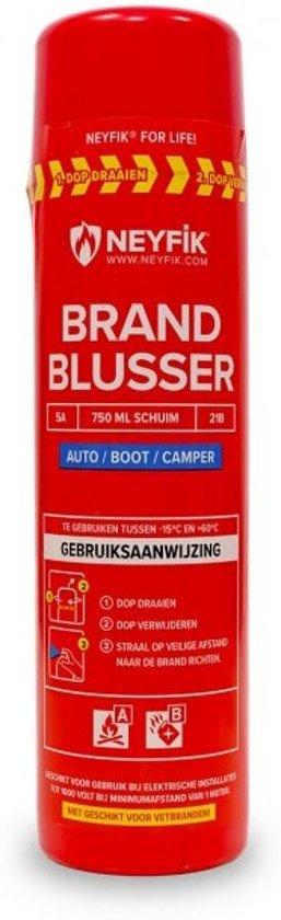 Neyfik spray-blusser 750 ml Auto, Boot, Camper Brandblusser