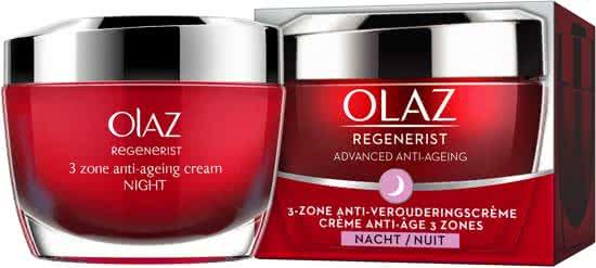 Olaz Regenerist 3-zone Anti-veroudering - 50 ml - Nachtcrème