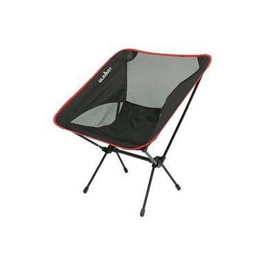 Summit vouwstoel Pack Away Chair zwart/rood
