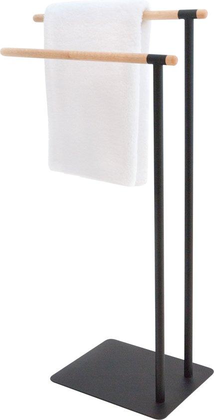 Sealskin Brix Handdoekrek - Zwart