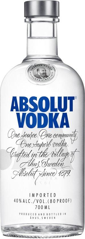 Absolut Vodka - 1 x 70 cl