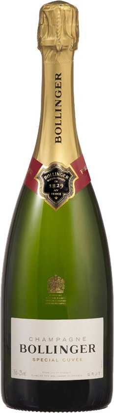 Bollinger Brut Special Cuvée - Champagne - Witte wijn - Chardonnay|Pinot Meunier|Pinot Noir - 5 cl