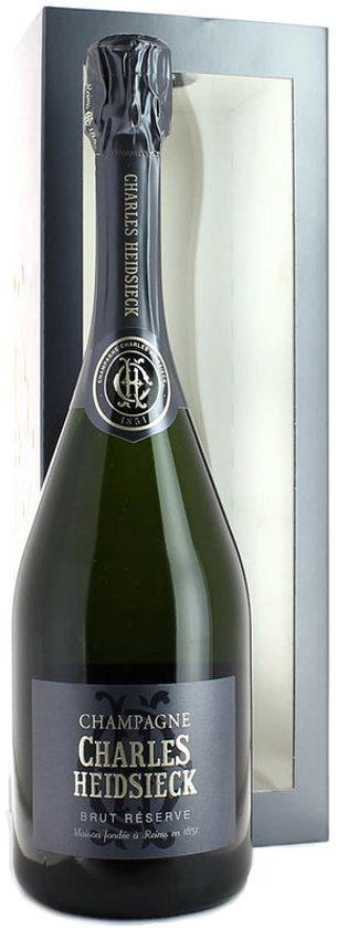 Champagne Charles Heidsieck Brut Reserve in geschenkdoos