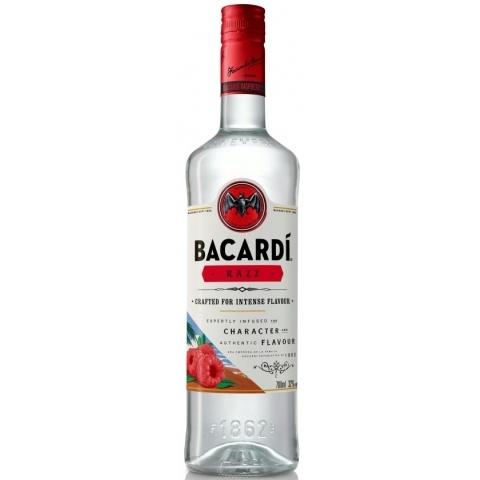 Køb Bacardi Razz Rom 32 % 70 cl. hos Bevco.dk®