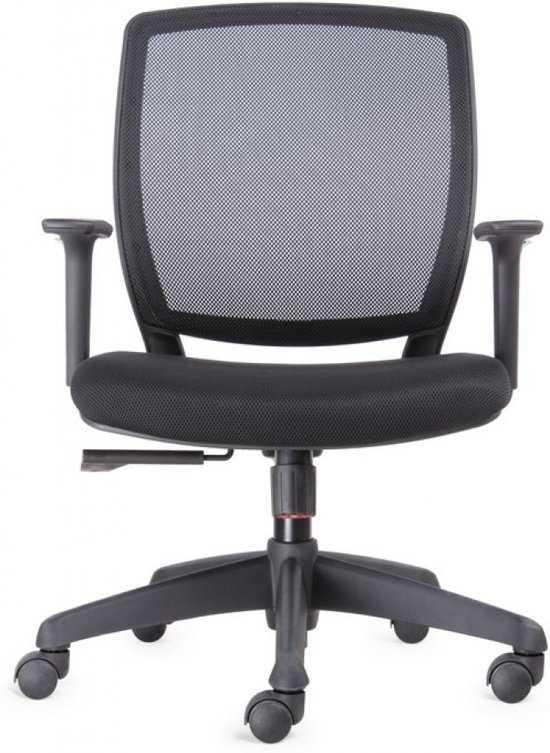 Verstelbare Bureaustoel Zwart.Bens 820 Ergonomische Bureaustoel Met In Hoogte Verstelbare