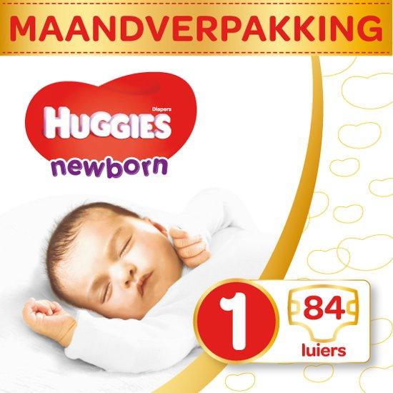 Huggies Newborn luiers - Maat 1 - (2 tot 5 kg) - 84 stuks - Voordeelverpakking