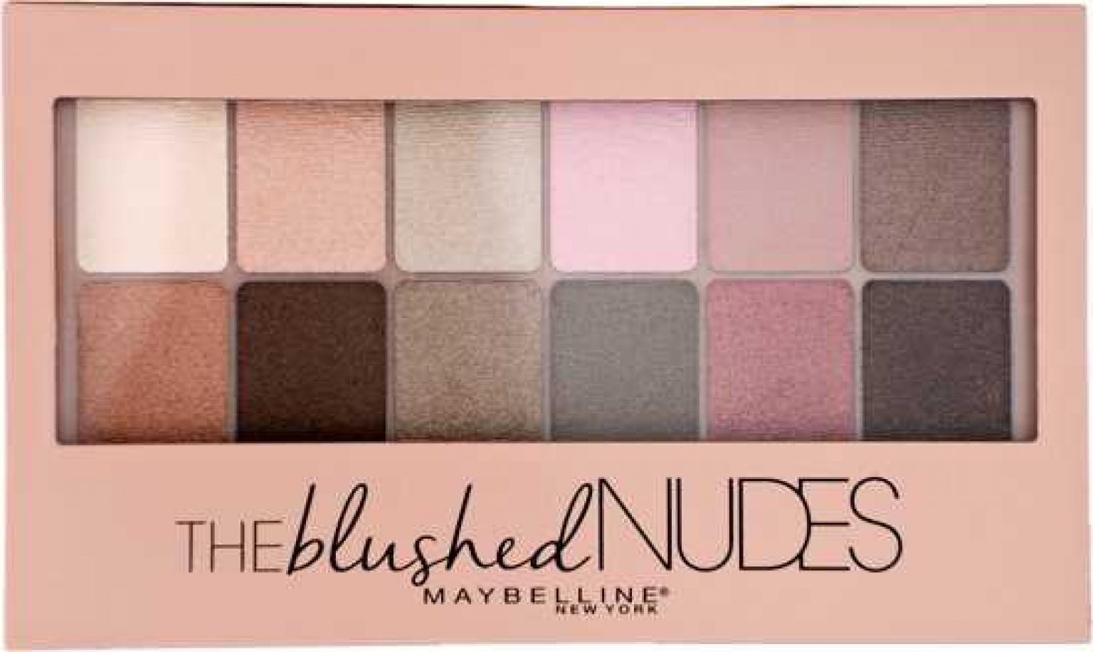 Maybelline Blushed Nude Shadow Palette for custom eye