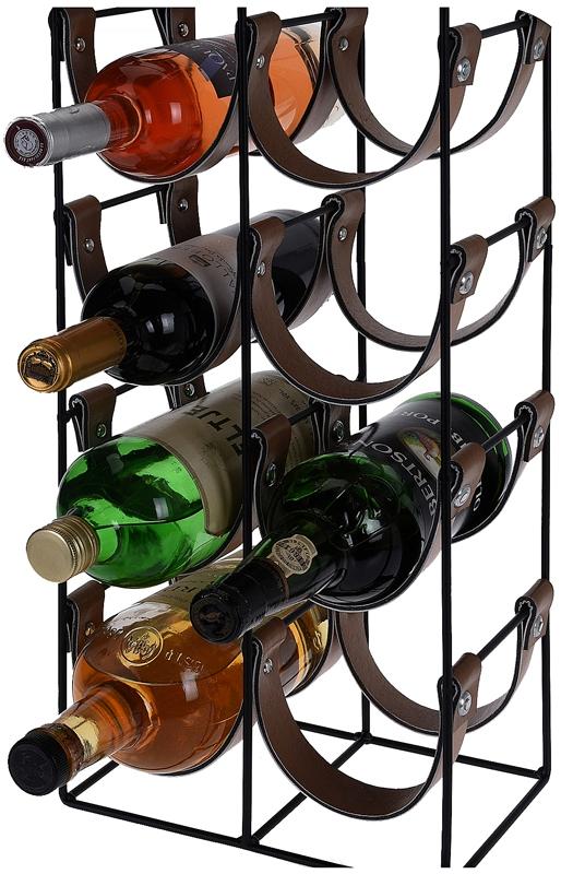 Trendy wijnrek voor 10 flessen - WarenhuisOnline24.nl.