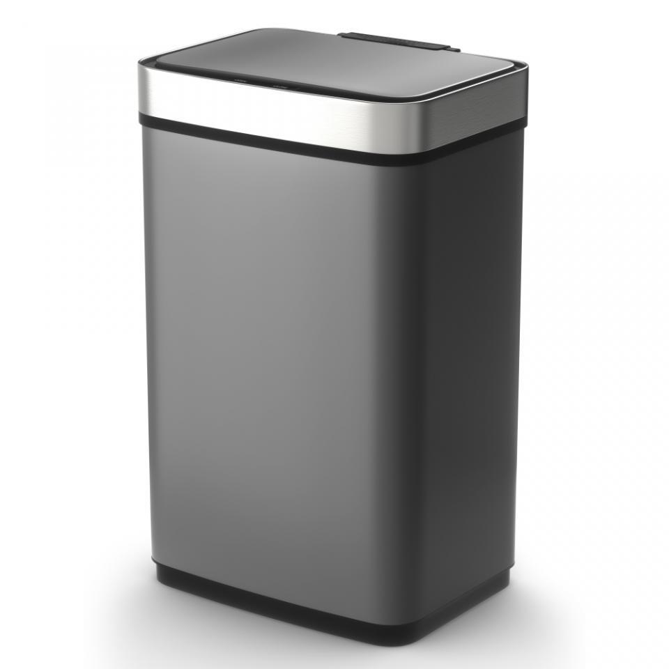 Tower Sensor Pro prullenbak - 60 liter - grijs