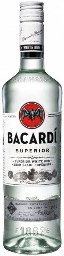 Bacardi Carta Blanca Rum - 70 cl