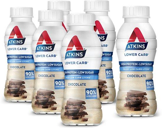 Atkins Advantage Ready To Drink Drinkmaaltijd - 330ml - Chocolade - 5+1 gratis