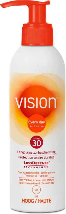 Vision Every Day Sun Protection Zonnebrand - SPF 30 - 200ml