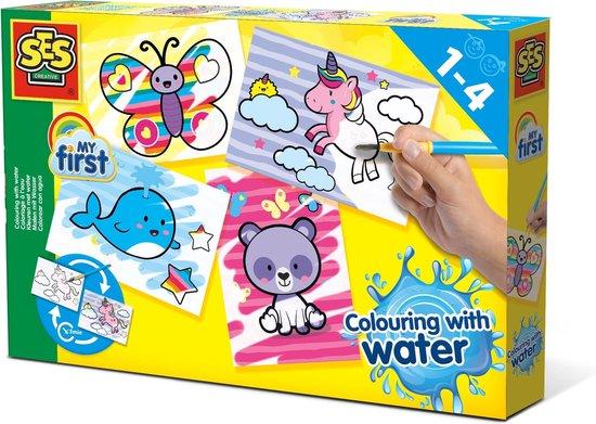 SES - Kleuren met water - Fantasie dieren