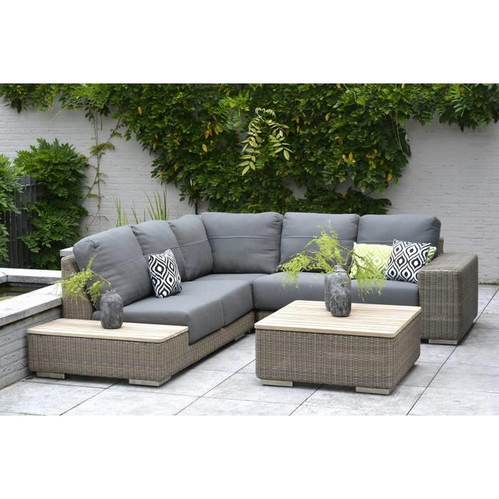 4 Seasons Outdoor Kingston loungeset Pure - Springbed | mattress