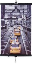 bol.com   Infrarood verwarming in poster-vorm Cabs in New York