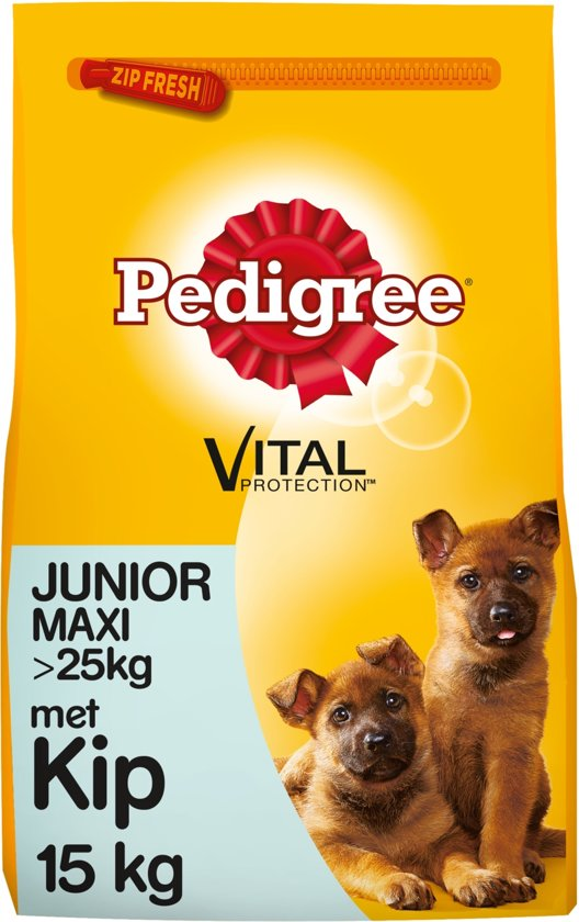 bol.com   Pedigree Vital Protection Junior Maxi - Kip & Rijst