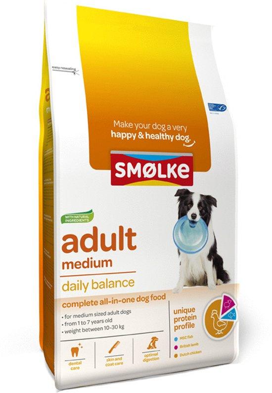 bol.com | Smolke Adult Medium - Hondenvoer - 12 kg
