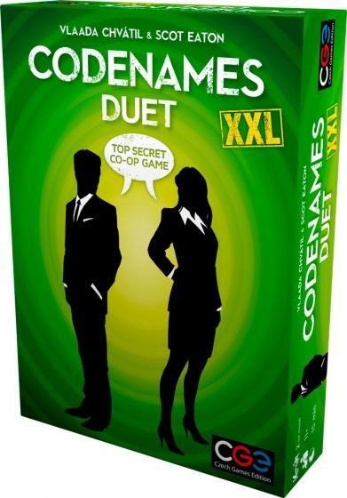 Czech Games Edition Gezelschapsspel Codenames Duet XXL (en
