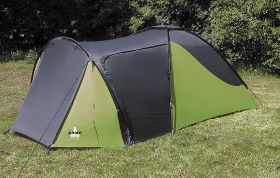 Eurotrail Campsite Mount Whitney - Tunneltent - 3-Persoons - Green/ Charcoal