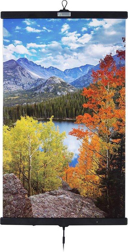 Infrarood verwarming in poster-vorm Mountain Lake