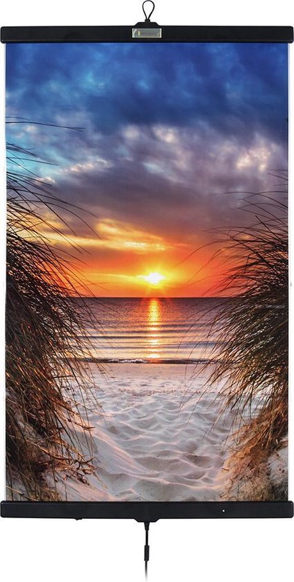 Invroheat Infrarood verwarming in poster-vorm Sunset on Ibiza