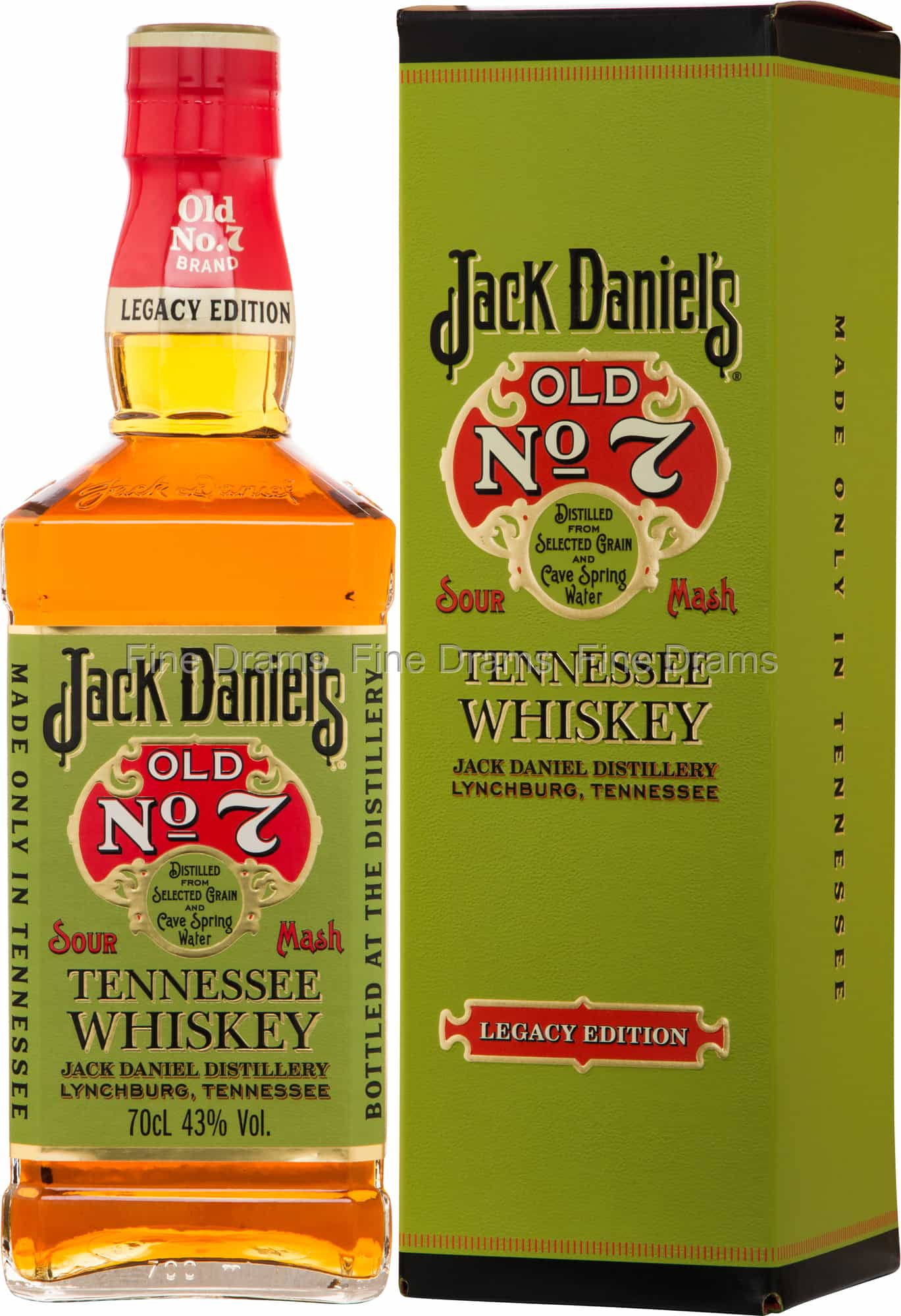 Jack Daniel's Old No. 7 Legacy Edition Whisky
