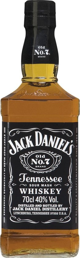 Jack Daniel's Old No.7 Tennessee Whiskey - 70 cl