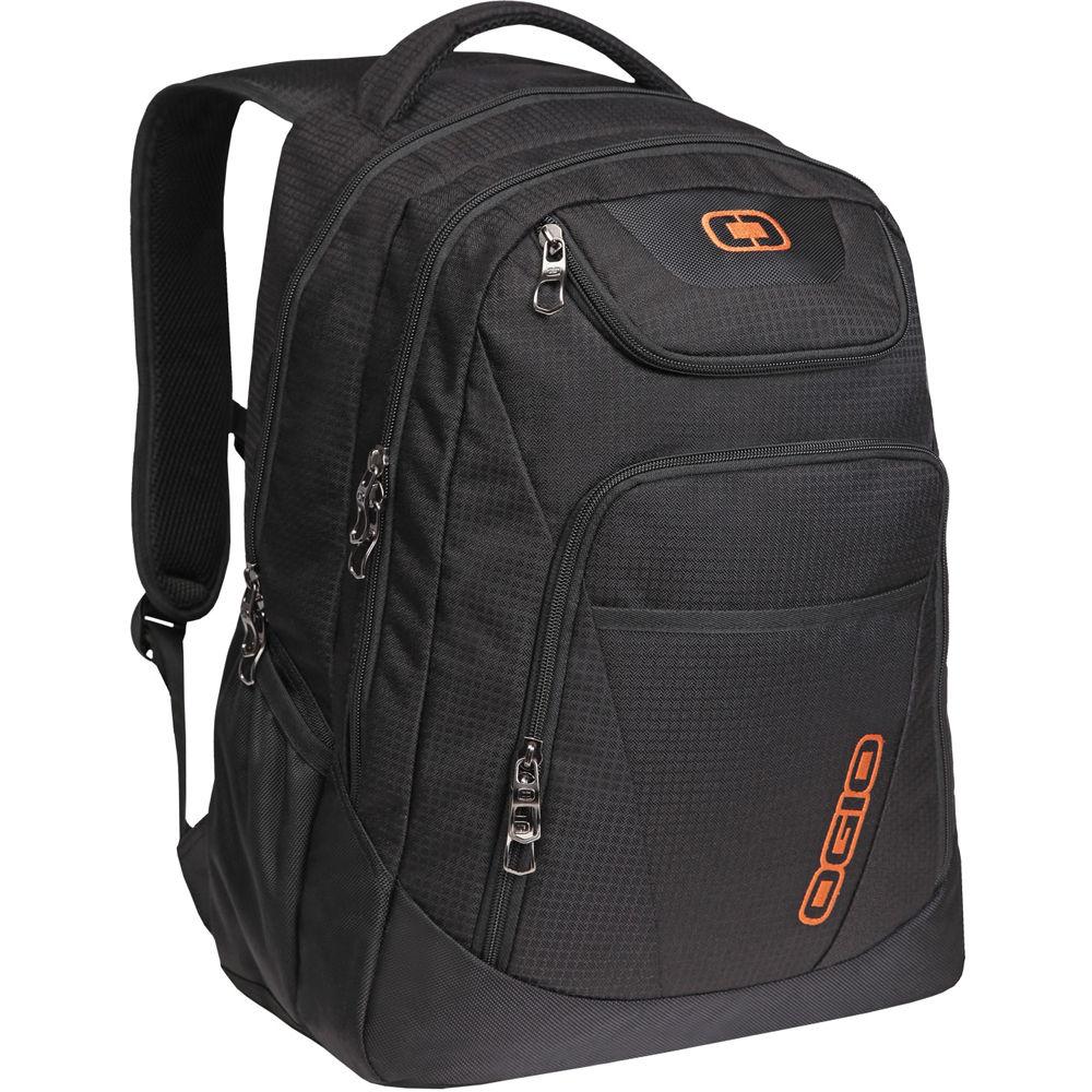"OGIO Tribune 17"" Laptop Backpack (Black) 111078.03 B&H"