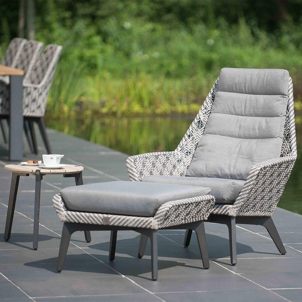 Savoy Batik Garden Chair With Optional Footstool By 4 Seasons
