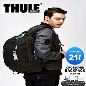 "Thule Crossover Backpack 21L TCBP-115 15"" MacBook Case Trip Travel"