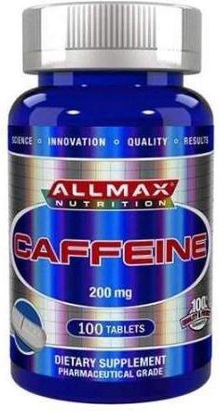 Caffeine 200mg - 100 tabletten