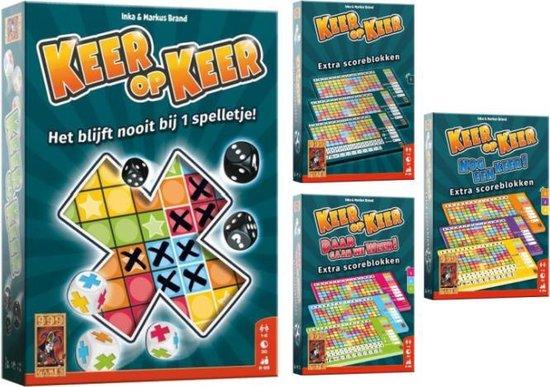 Keer op Keer + Scoreblokken Level 1 - Level 2 3 4 - Level 5 6 7 - 999 Games