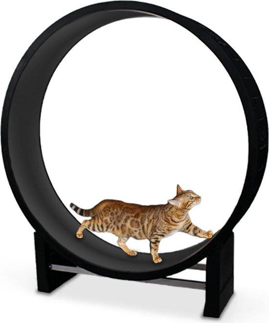 Kat in beweging. Loopwiel voor katten - CanadianCat Company   antraciet