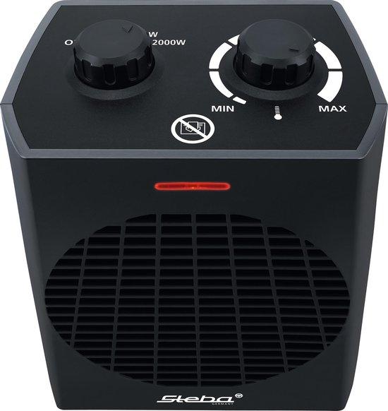 Steba FH504 - Ventilatorkachel - 2000W - Zwart