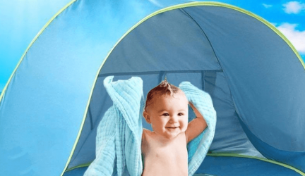 Beste Baby Strandtent voor bescherming tegen de zon