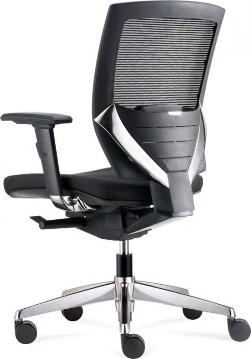 BenS 807MC (Zwarte uitvoering), Luxe ergonomische bureaustoel met vele instelmogelijkheden, zoals zitdiepte, lendesteun, armleggers, etc. Uitgevoerd met een Donati mechaniek...
