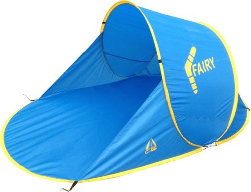 Best Camp Fairy - Pop-up Beach Shelter / Strandtent - Blauw