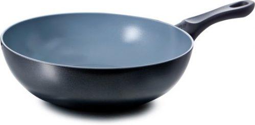 BK Easy Basic Ceramic Steelwok – Ø28 cm – zwart/grijs