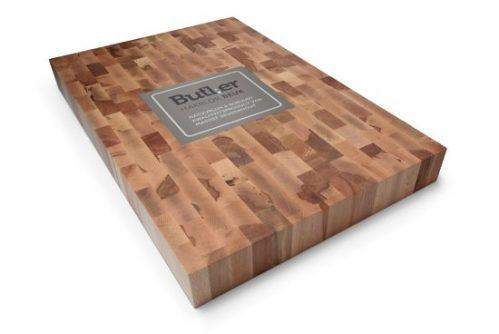 Butler Hakblok - kopsbeukenhout - 60 x 40 x 6 cm