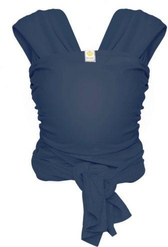 ByKay Stretchy Wrap de Luxe - Draagdoek maat M - Jeans Blauw