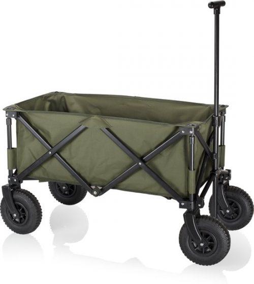 Campart Travel HC-0915 Opvouwbare bagagewagen - Luchtbanden
