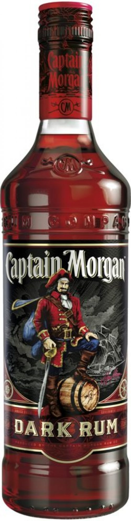 Captain Morgan Jamaica Rum - 1 x 70 cl