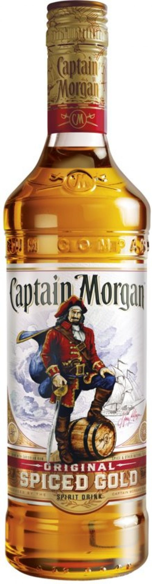 Captain Morgan Spiced Gold - 1 x 1 L