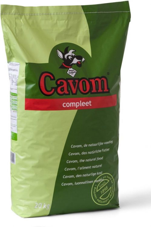 Cavom Compleet - Hondenvoer - 20 kg